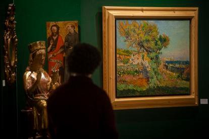 La obra de Joaquim Mir que puede verse en Clavell&Morgades