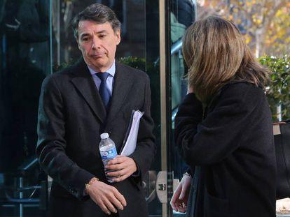Ignacio Gonzalez a la salida de la Audiencia Nacional el pasado mes de diciembre.