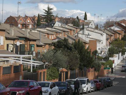 Viviendas unifamiliares, en Pozuelo de Alarcón (Madrid).