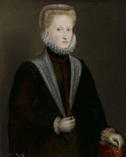 La reina Ana de Austria, de Sofonisba Anguissola, 1573