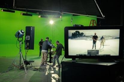 Muestra de producciones virtuales en los Estudios de GGM.