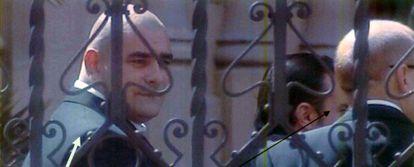 Ivo el búlgaro, señalado con una flecha en un documento del sumario.