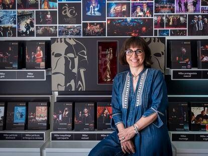 Judith Colell, nueva directora de la Academia del Cine Catalá, el lunes en la sede de la institución.