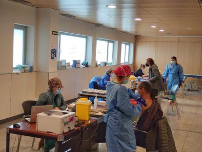 Vacunación contra la covid en La Rioja.