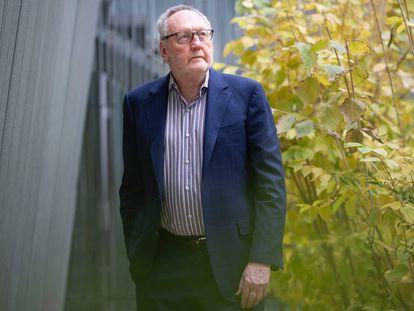 El asesor en políticas educativas Michael Fullan, en la Institución Libre de Enseñanza en Madrid.