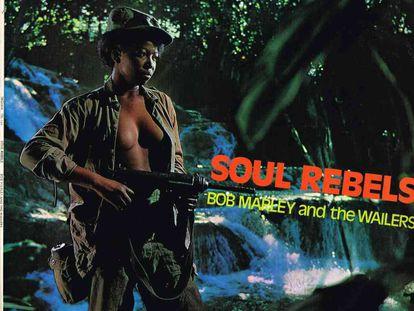 Carátula de 'Soul Rebels', de Bob Marley And The Wailers