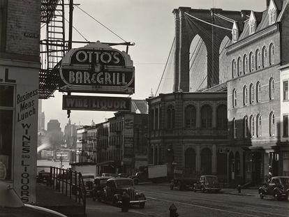 The Brooklyn Bridge, 1941