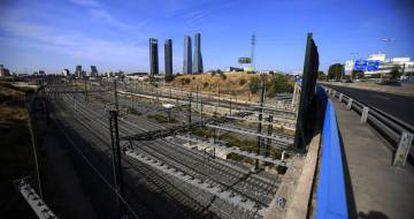 Parte de la zona norte de Madrid afectada por la paralizada Operación Chamartín.