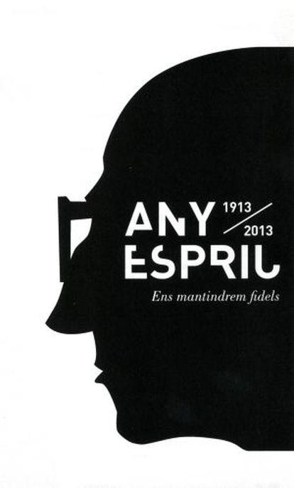 Imagen promocional del Año Espriu.