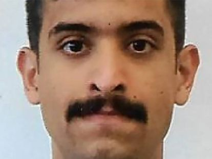 Mohammed Saeed Alshamrani, en una imagen difundida por el FBI.