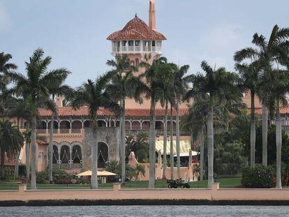 Mar-a-Lago, el club privado de Trump que ha bautizado como la Casa Blanca del Sur.