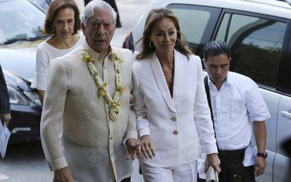 Mario Vargas Llosa e Isabel Preysler.