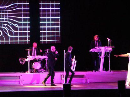 El concierto de The Human League en Porta Ferrada.