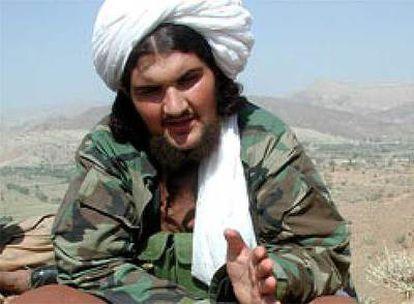 Amir Baitulá Mehsud, el líder talibán que supuestamente encargó desde Waziristán los atentados en Europa.