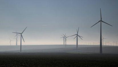 Energía eólica en Rumanía.