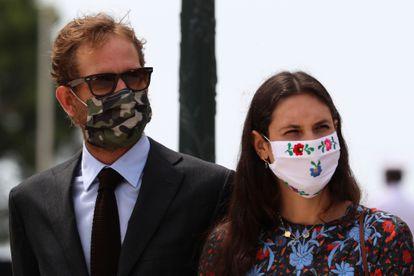 Andrea Casiraghi y Tatiana Santo Domingo, el pasado día 2.