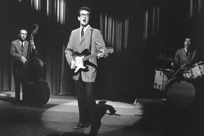 Buddy Holly & The Crickets en 1958.