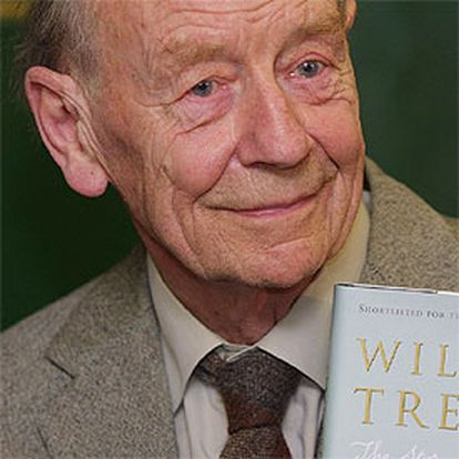 El autor irlandés William Trevor (1928).