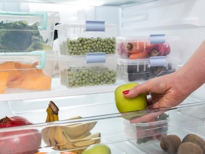 Táperes y cajas resistentes que permiten visualizar de manera rápida todos los alimentos. GETTY IMAGES.