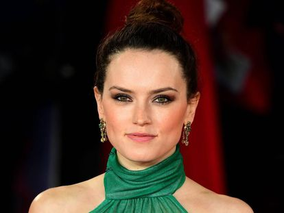 Daisy Ridley, en el estreno en Londres de 'Asesinato en el Orient Express', el pasado noviembre.
