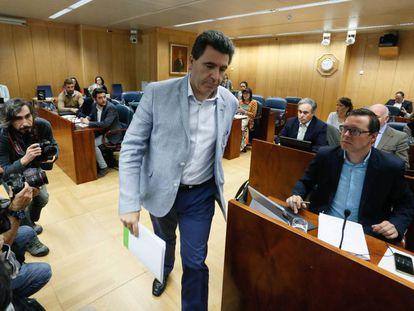 El empresario David Marjaliza, en la Asamblea de Madrid, en una imagen de archivo.
