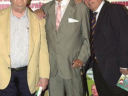 José Luis Coll, Tony Leblanc, Arévalo