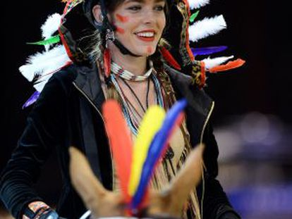 Carlota Casiraghi, en la edición 2012 del Gucci Paris Master.