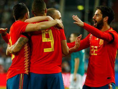 España se enfrenta a Suiza en el partido amistoso previo al Mundial de Rusia 2018