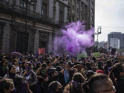 8 de marzo de 2020 en Ciudad de México.
