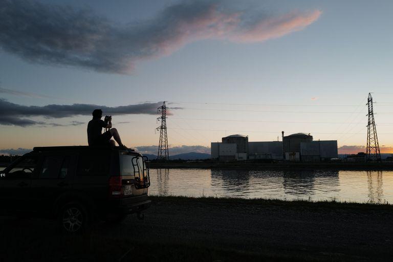 La central nuclear de Fessenheim en pleno proceso de desconexión el 29 de junio.