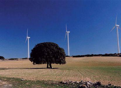 Parque eólico de La Muela, en Albacete.