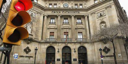 Sede central de Catalunya Banc, en Barcelona.