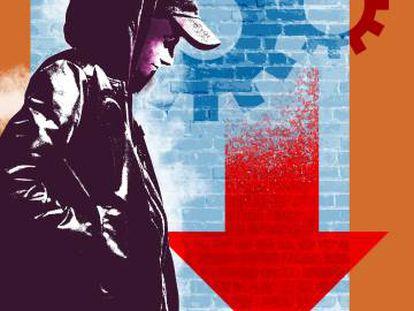 Pobreza de jóvenes, una emergencia nacional
