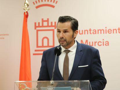 El concejal de Fomento de Murcia y vicealcalde, Mario Gómez, en una imagen de enero.