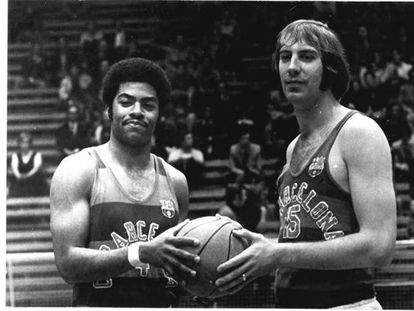Thomas y Carmichael, en 1972.