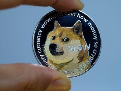 Imagen de la criptomoneda Dogecoin.