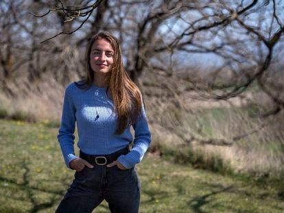 Irene Solà fotografiada en Vic.