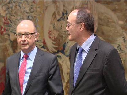 Ordóñez lanza reproches al Gobierno en su despedida del Banco de España
