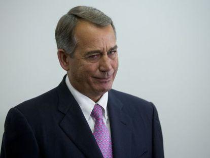 El portavoz de la Cámara de Representantes, John Boehner, dejará este mes su cargo con el trabajo terminado.