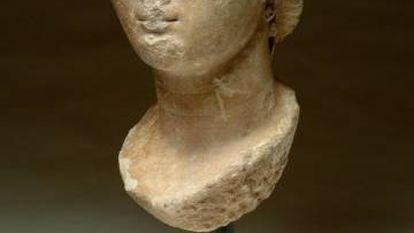 Busto de Agripina, del siglo I d.C.