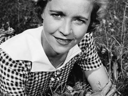 Alice Babs, cantante de jazz.