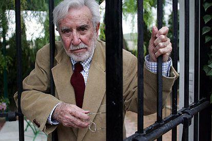 Carlos Castilla del Pino, fotografiado el jueves pasado en su Casa del Olivo, en Castro del Río, a 40 kilómetros de Córdoba.