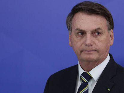 Jair Bolsonaro, en Brasilia.