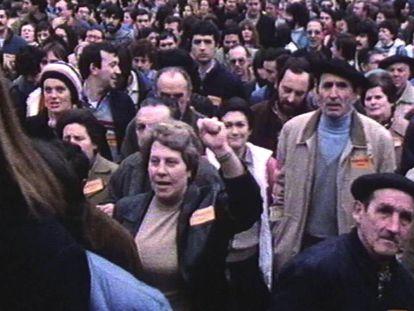 Fotograma de la película 'Mudar la piel'.