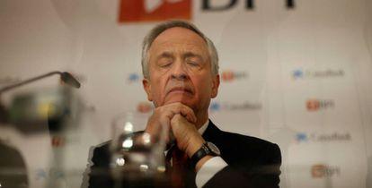 El consejero delegado de BPI, Fernando Ulrich.