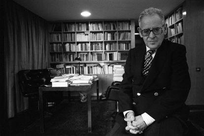 Eduardo García de Enterría fotografiado en 1994.