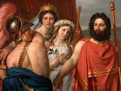 'La ira de Aquiles', de Jacques David.