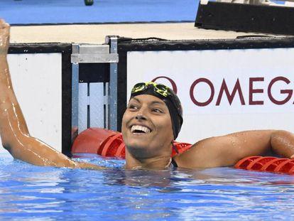 Teresa Perales en los Juegos de Río.