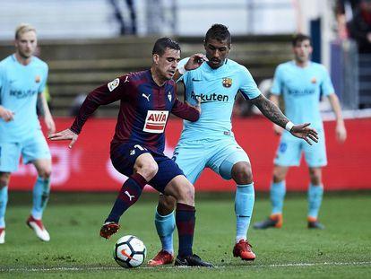 El Eibar se enfrenta al Barcelona en la jornada 24 de la Liga Santander