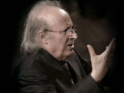 El director de orquesta israelí Eliahu Inbal.